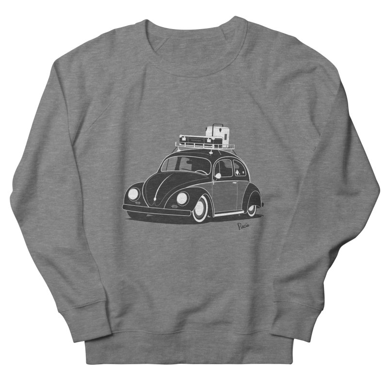 Aircooled Bug Men's French Terry Sweatshirt by Andrea Pacini