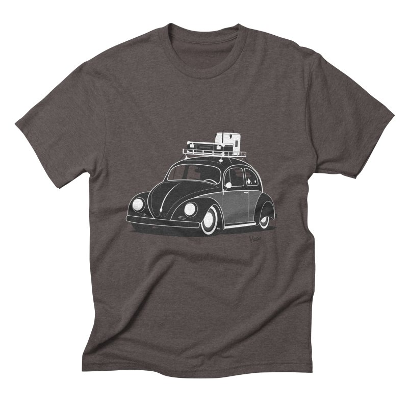 Aircooled Bug Men's Triblend T-Shirt by Andrea Pacini