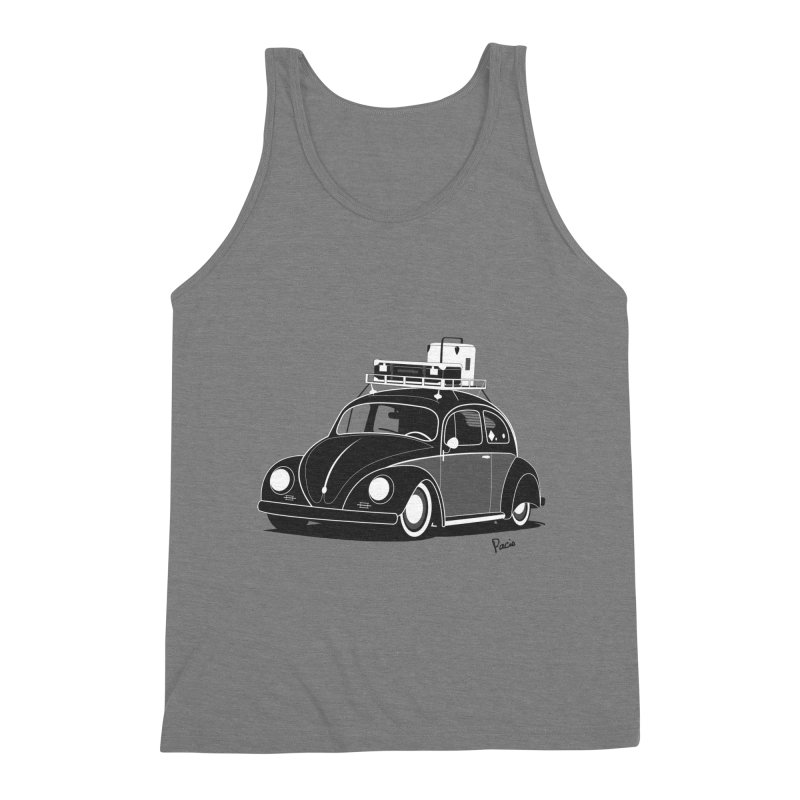 Aircooled Bug Men's Triblend Tank by Andrea Pacini