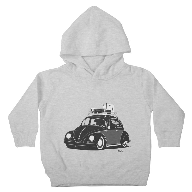 Aircooled Bug Kids Toddler Pullover Hoody by Andrea Pacini