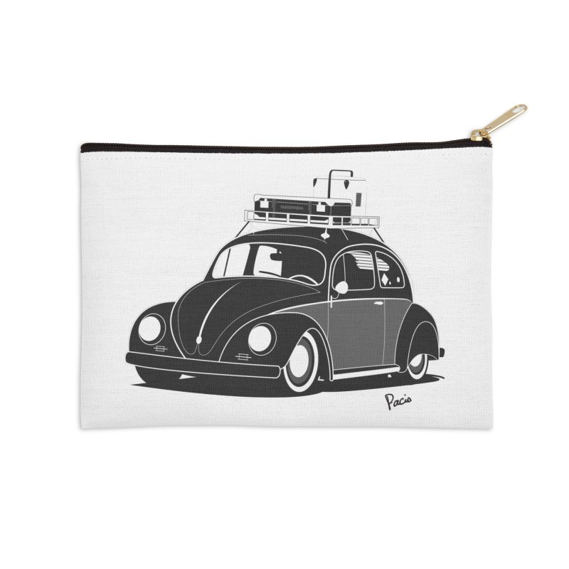 Aircooled Bug in Zip Pouch by Andrea Pacini