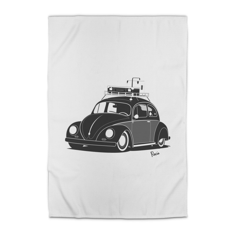 Aircooled Bug Home Rug by Andrea Pacini