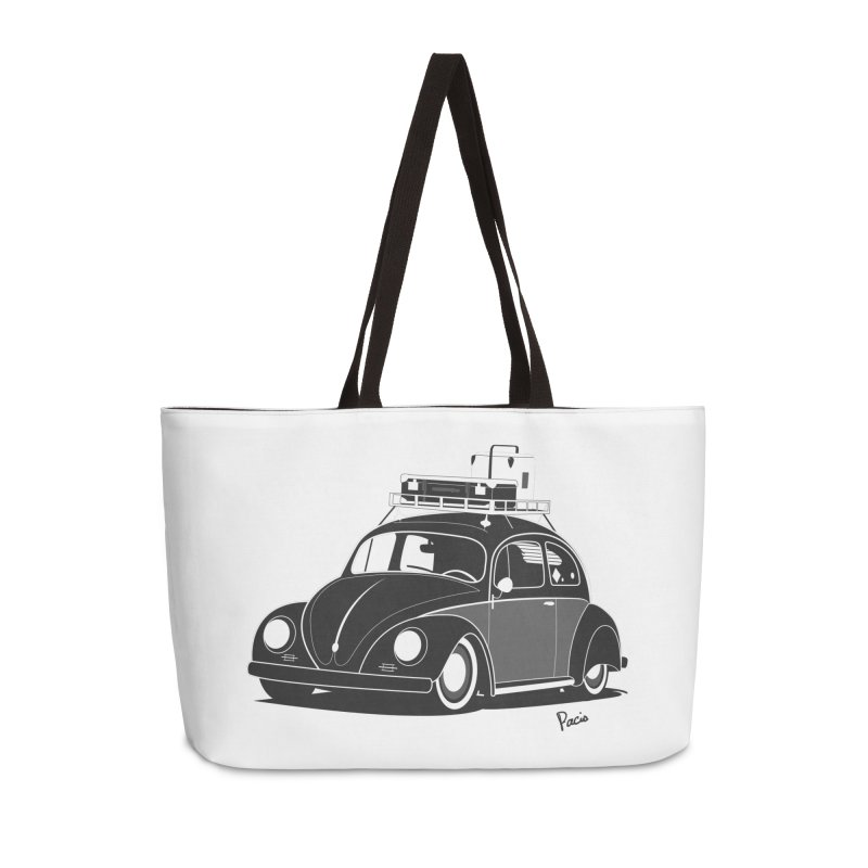 Aircooled Bug Accessories Weekender Bag Bag by Andrea Pacini
