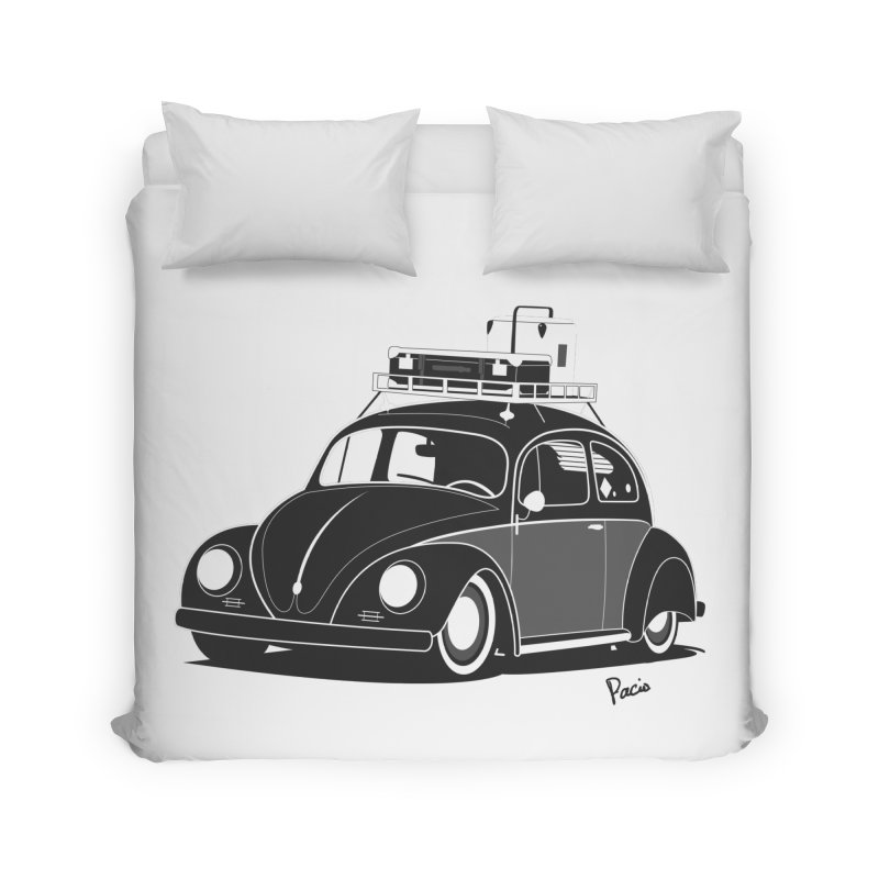 Aircooled Bug Home Duvet by Andrea Pacini