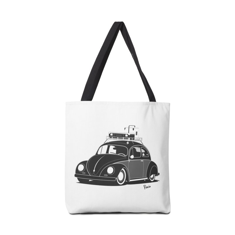 Aircooled Bug Accessories Tote Bag Bag by Andrea Pacini