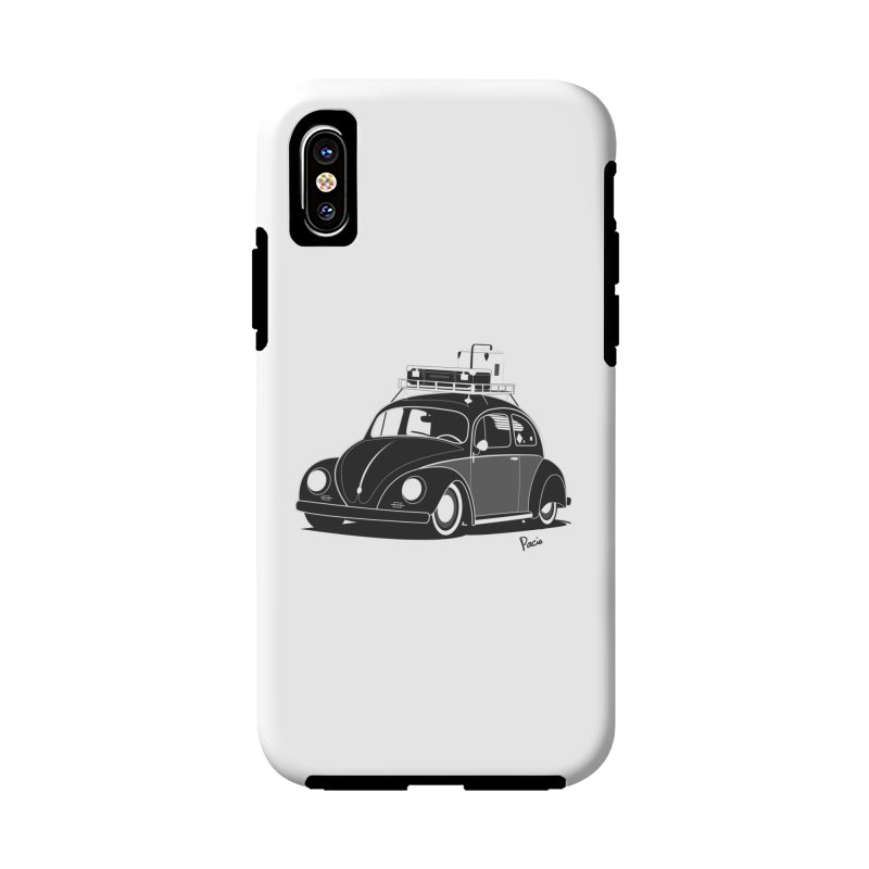 Aircooled Bug Accessories Phone Case by Andrea Pacini