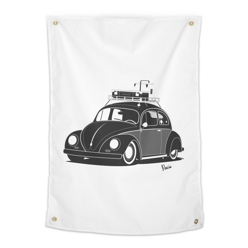 Aircooled Bug Home Tapestry by Andrea Pacini