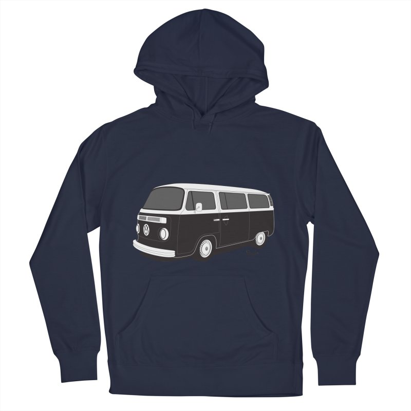 T2 Bay Men's French Terry Pullover Hoody by Andrea Pacini