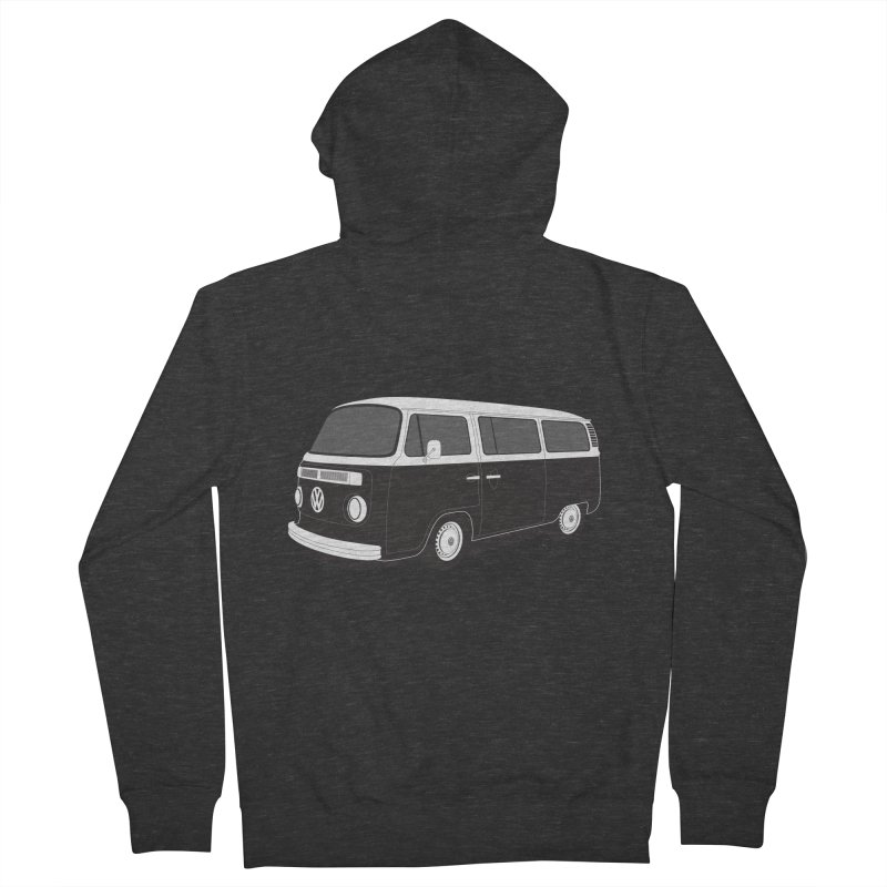 T2 Bay Men's French Terry Zip-Up Hoody by Andrea Pacini