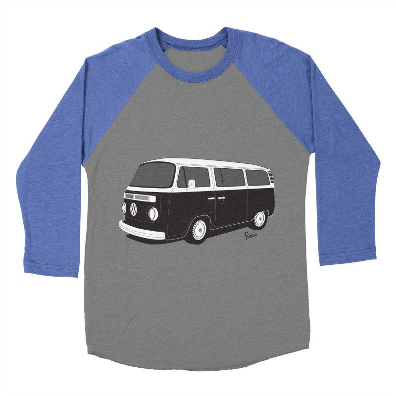 T2 Bay Men's Baseball Triblend T-Shirt by Andrea Pacini