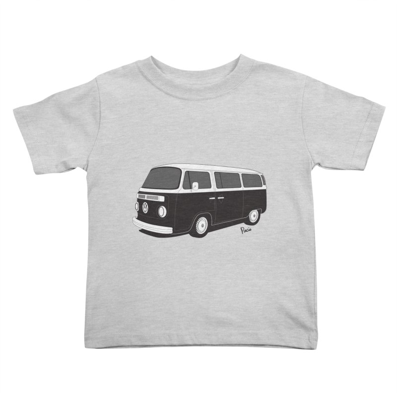 T2 Bay Kids Toddler T-Shirt by Andrea Pacini