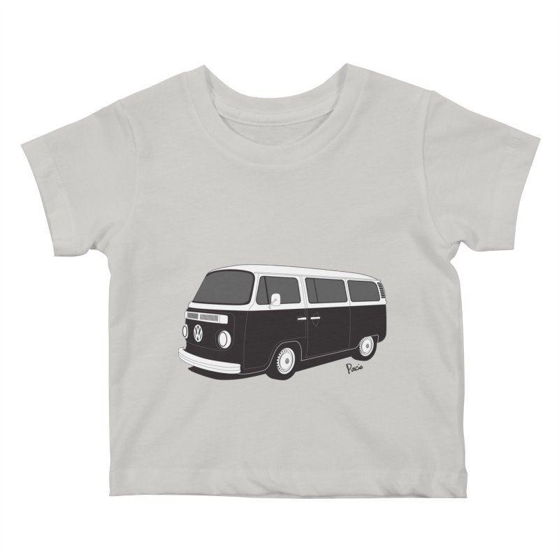 T2 Bay Kids Baby T-Shirt by Andrea Pacini