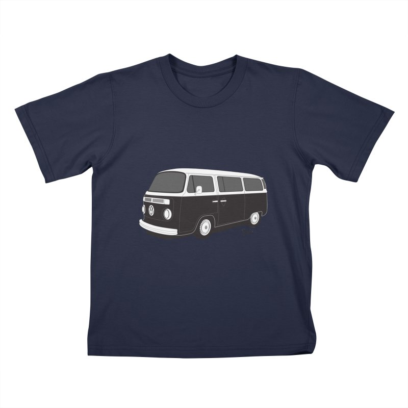 T2 Bay Kids T-Shirt by Andrea Pacini