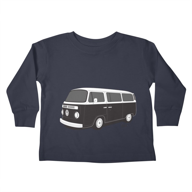T2 Bay Kids Toddler Longsleeve T-Shirt by Andrea Pacini