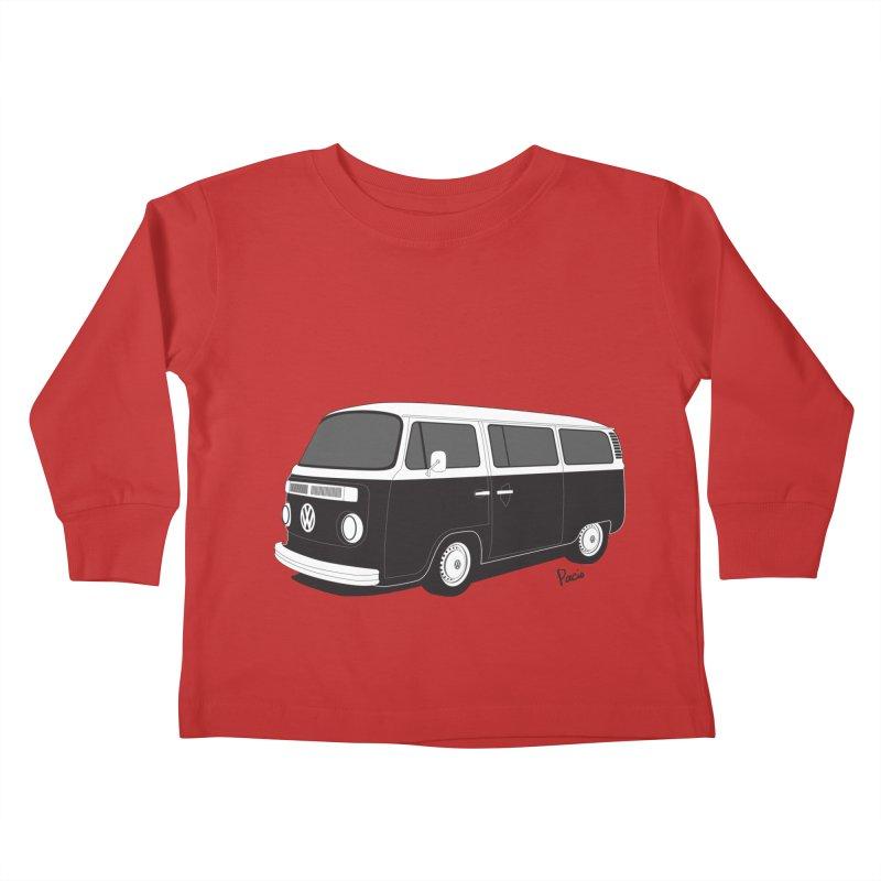 T2 Bay Kids Toddler Longsleeve T-Shirt by Andrea Pacini
