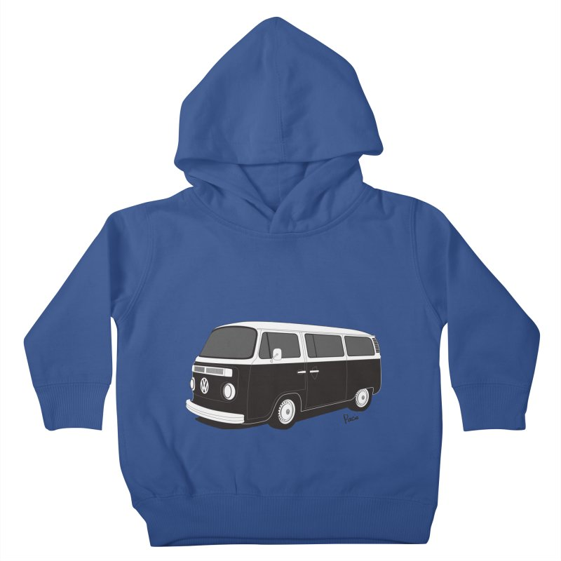 T2 Bay Kids Toddler Pullover Hoody by Andrea Pacini