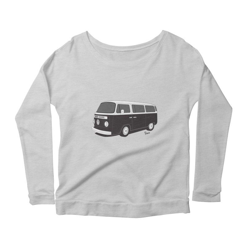 T2 Bay Women's Scoop Neck Longsleeve T-Shirt by Andrea Pacini