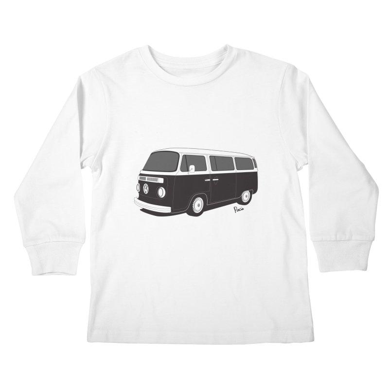 T2 Bay Kids Longsleeve T-Shirt by Andrea Pacini
