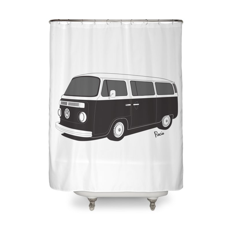 T2 Bay Home Shower Curtain by Andrea Pacini