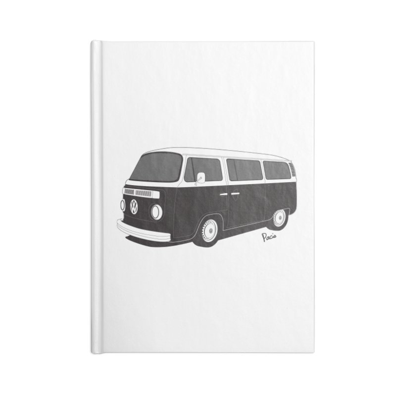 T2 Bay Accessories Blank Journal Notebook by Andrea Pacini