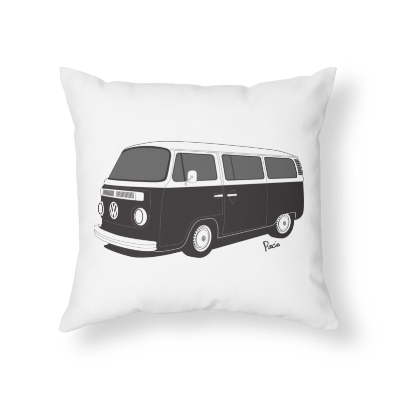 T2 Bay Home Throw Pillow by Andrea Pacini