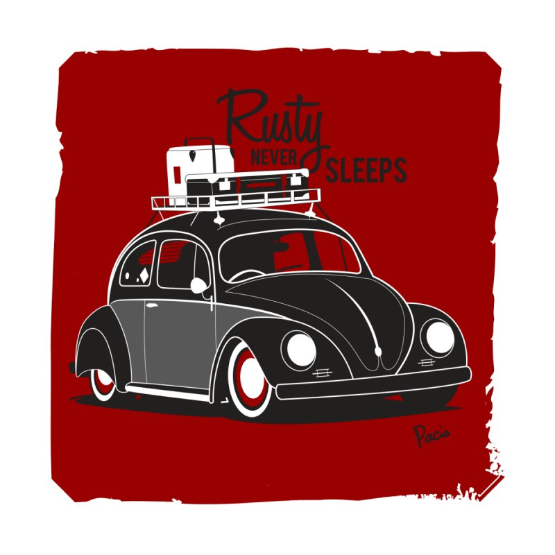 Rusty never sleeps Kids T-Shirt by Andrea Pacini