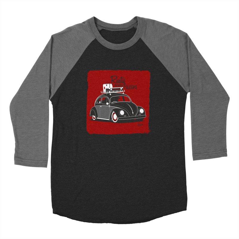 Rusty never sleeps Women's Longsleeve T-Shirt by Andrea Pacini