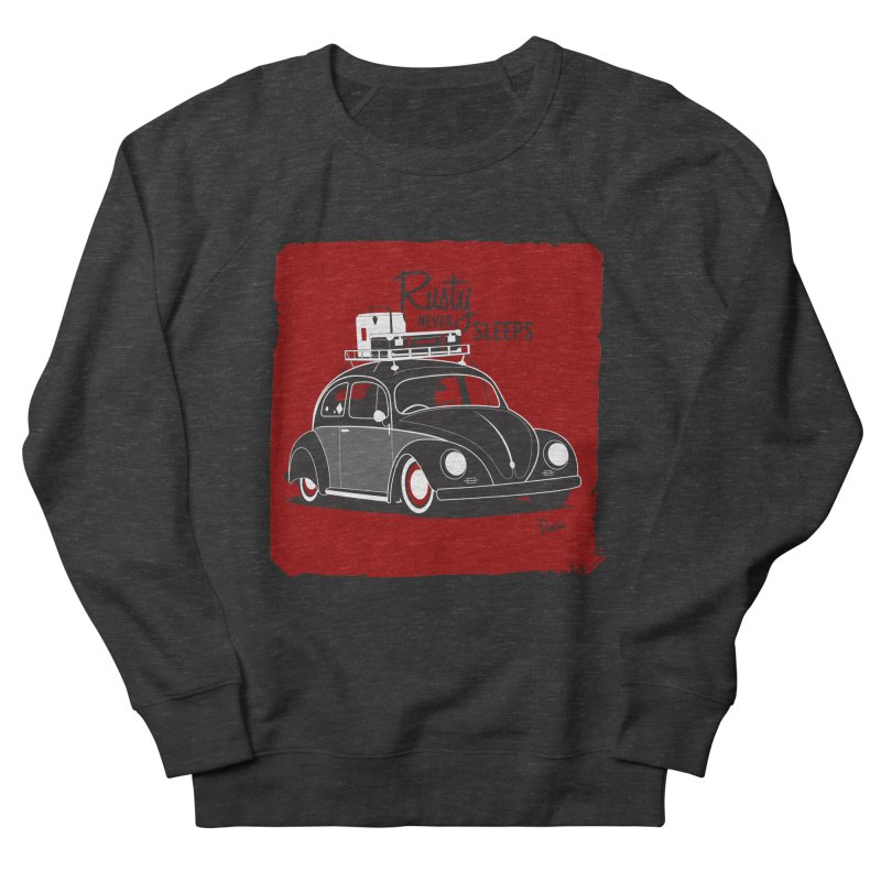 Rusty never sleeps Men's Sweatshirt by Andrea Pacini