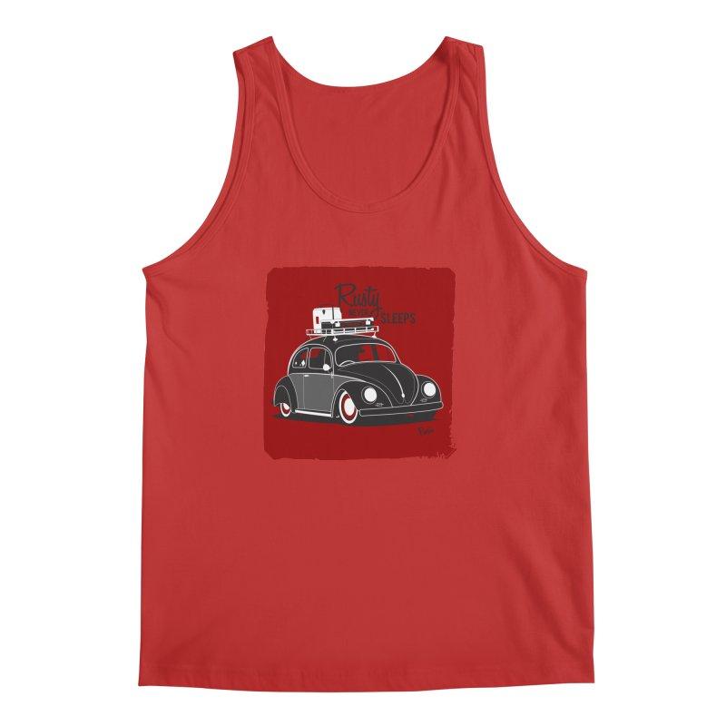 Rusty never sleeps Men's Tank by Andrea Pacini