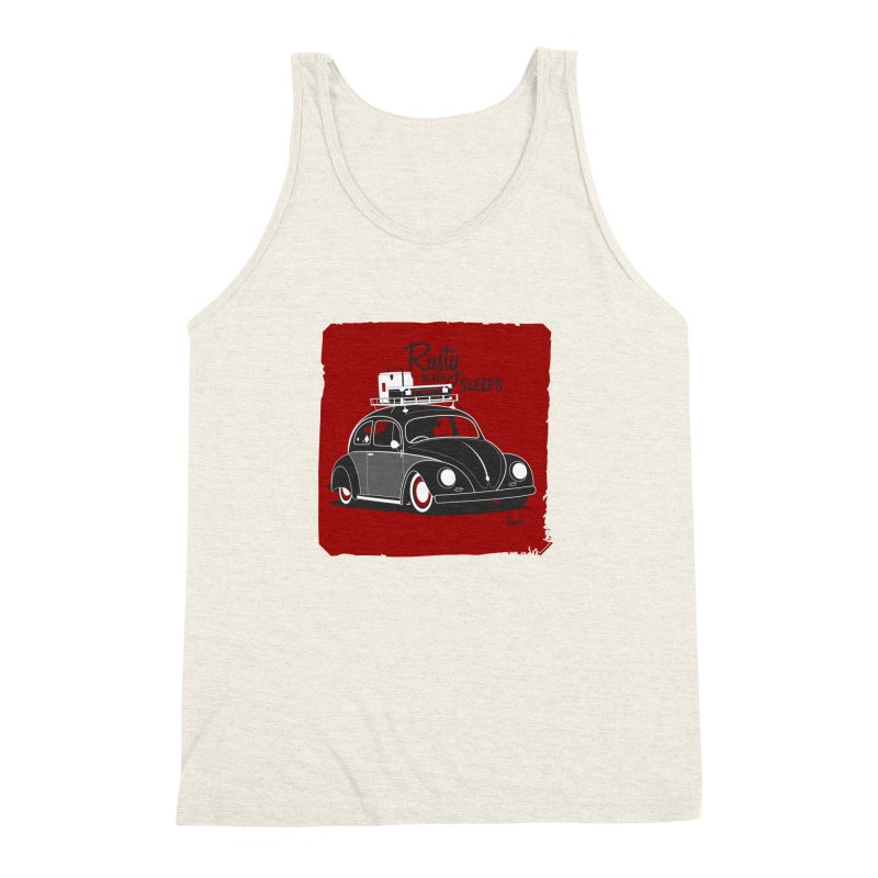 Rusty never sleeps Men's Triblend Tank by Andrea Pacini