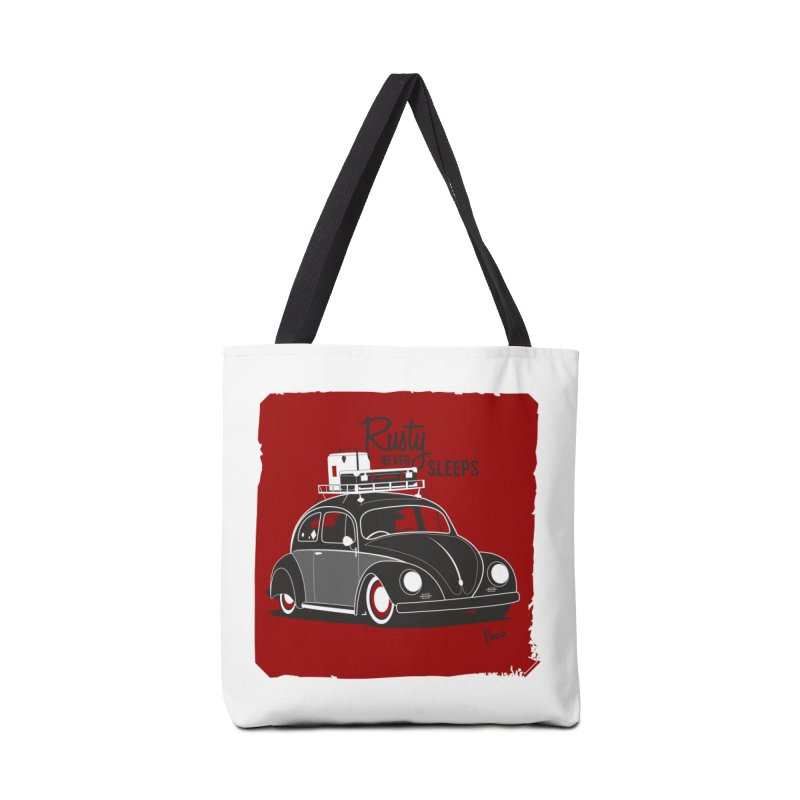 Rusty never sleeps Accessories Tote Bag Bag by Andrea Pacini