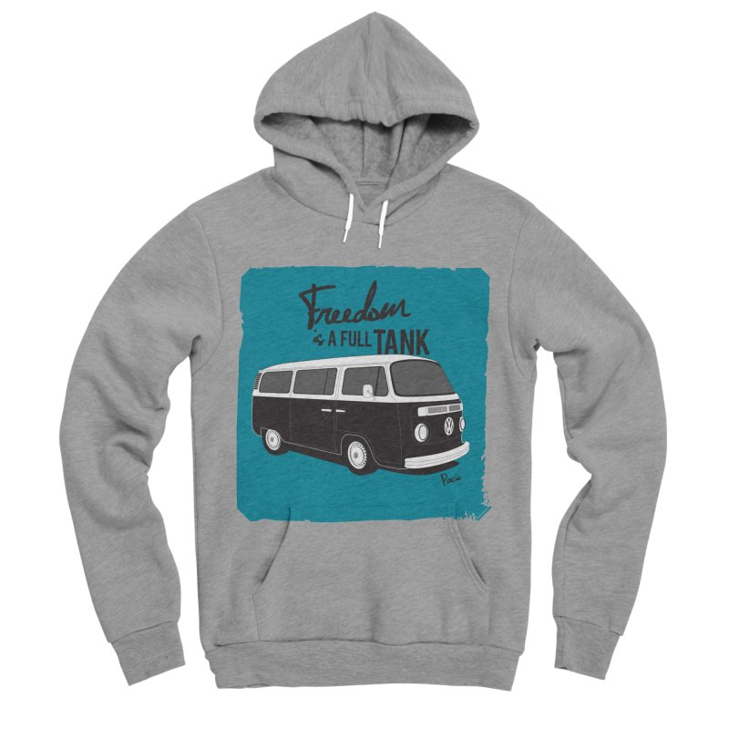 Freedom is a full tank Men's Pullover Hoody by Andrea Pacini