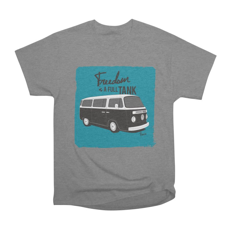 Freedom is a full tank Men's Heavyweight T-Shirt by Andrea Pacini