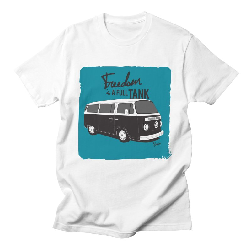 Freedom is a full tank Men's T-Shirt by Andrea Pacini