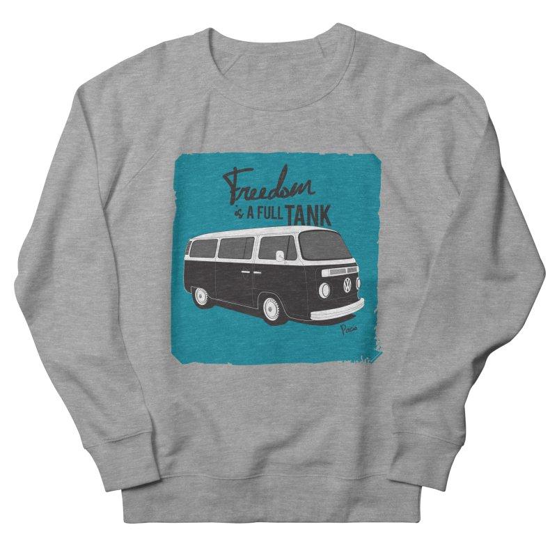 Freedom is a full tank Women's Sweatshirt by Andrea Pacini