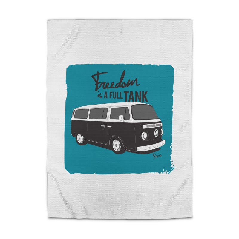 Freedom is a full tank Home Rug by Andrea Pacini