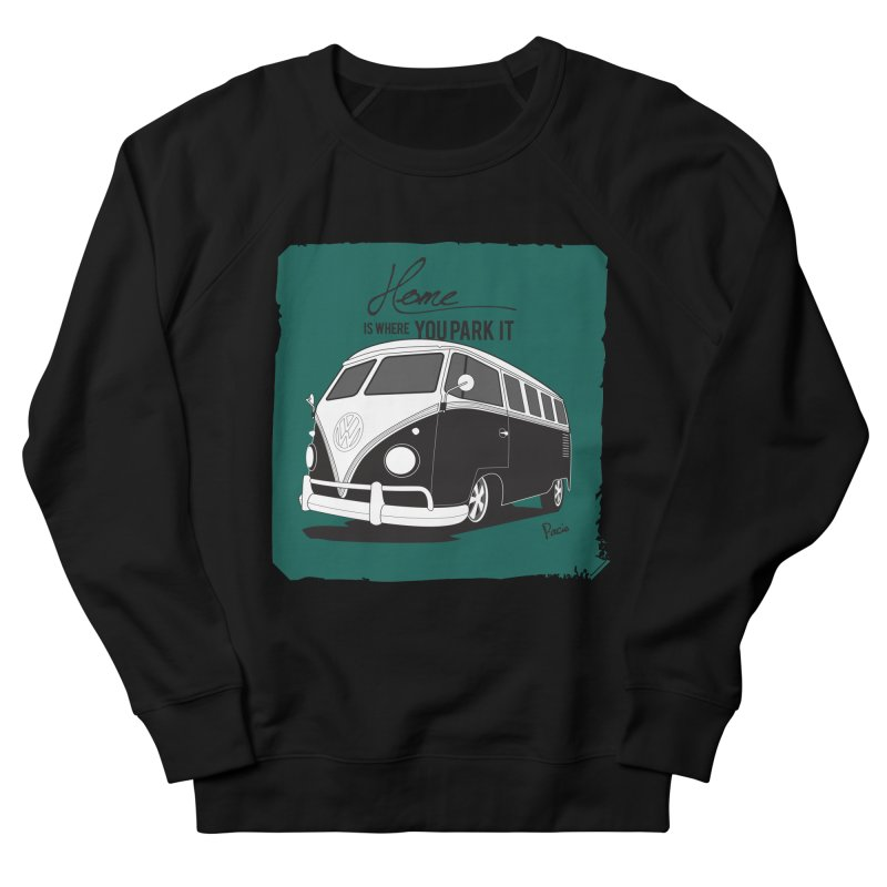 Home is where you park it Women's Sweatshirt by Andrea Pacini