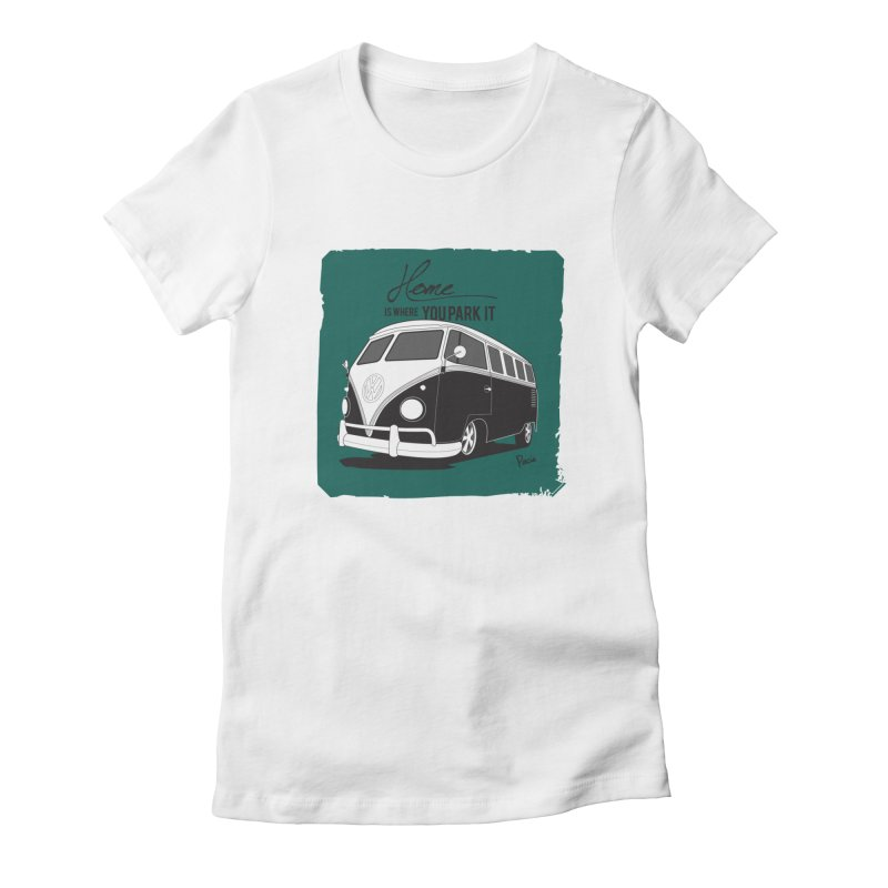 Home is where you park it Women's T-Shirt by Andrea Pacini