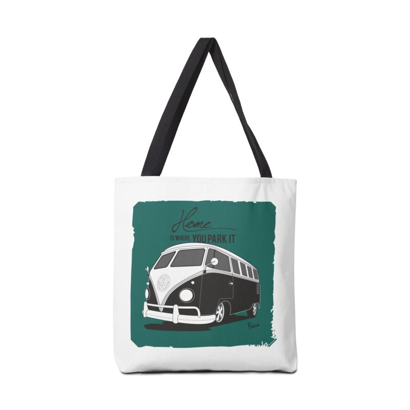 Home is where you park it Accessories Tote Bag Bag by Andrea Pacini