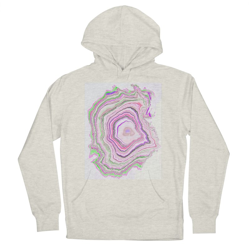 Fluorescent Pixellated Rings Women's Pullover Hoody by andrearaths's Artist Shop