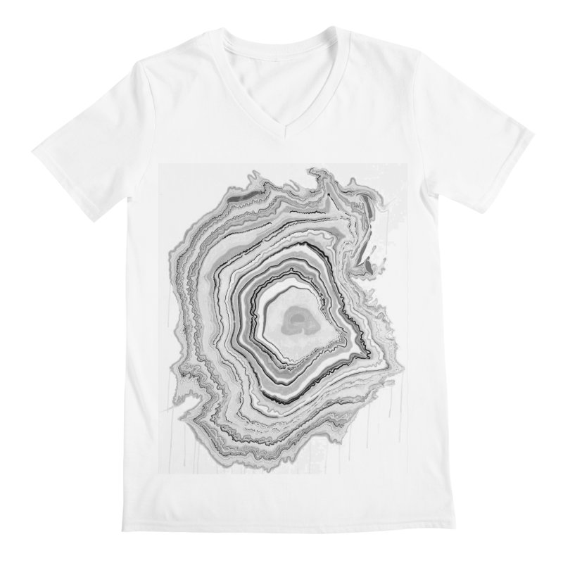 Rings II Men's V-Neck by andrearaths's Artist Shop