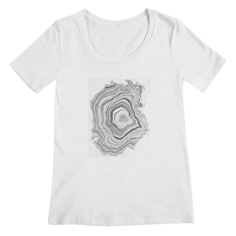 Rings II Women's Scoopneck by andrearaths's Artist Shop