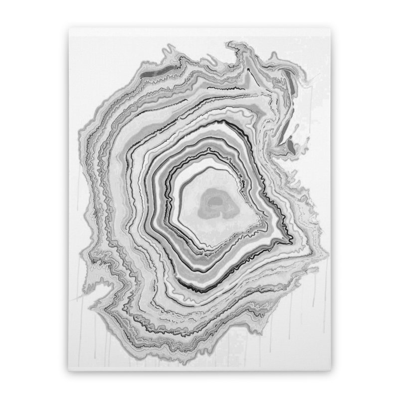 Rings II Home Stretched Canvas by andrearaths's Artist Shop