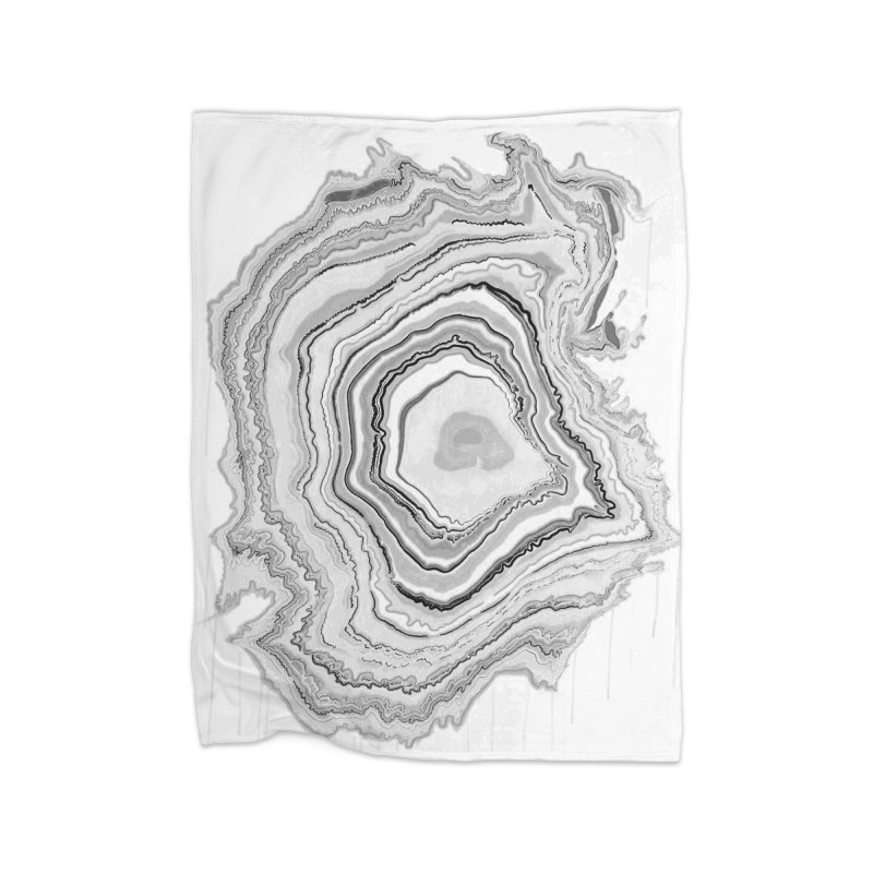 Rings II Home Fleece Blanket Blanket by andrearaths's Artist Shop