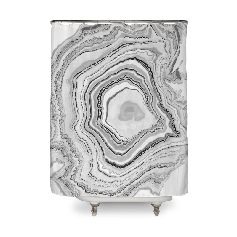 Rings II Home Shower Curtain by andrearaths's Artist Shop