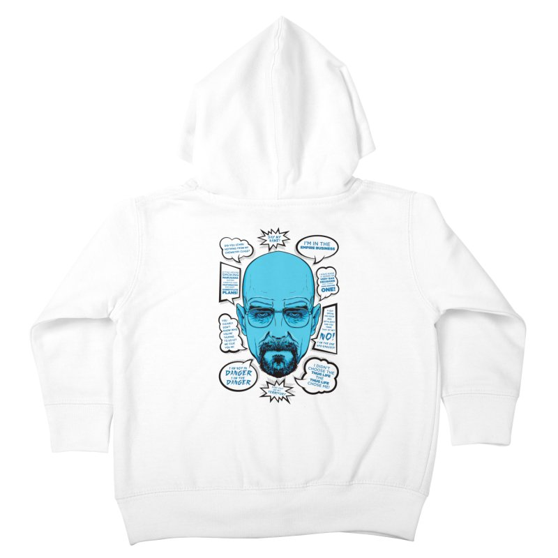 Heisenberg Quotes Kids Toddler Zip-Up Hoody by Andreas Leonidou's Artist Shop