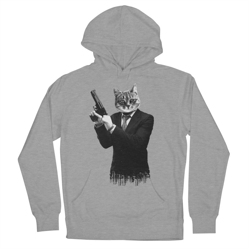 Cat! Pussy Cat Women's Pullover Hoody by Andreas Leonidou's Artist Shop