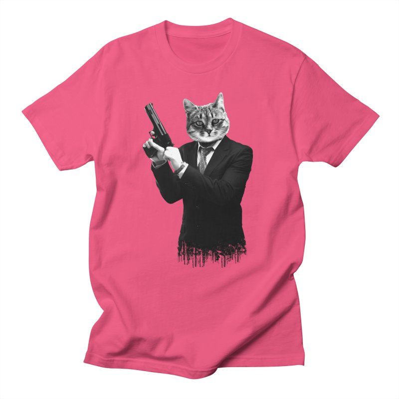 Cat! Pussy Cat Men's T-shirt by Andreas Leonidou's Artist Shop
