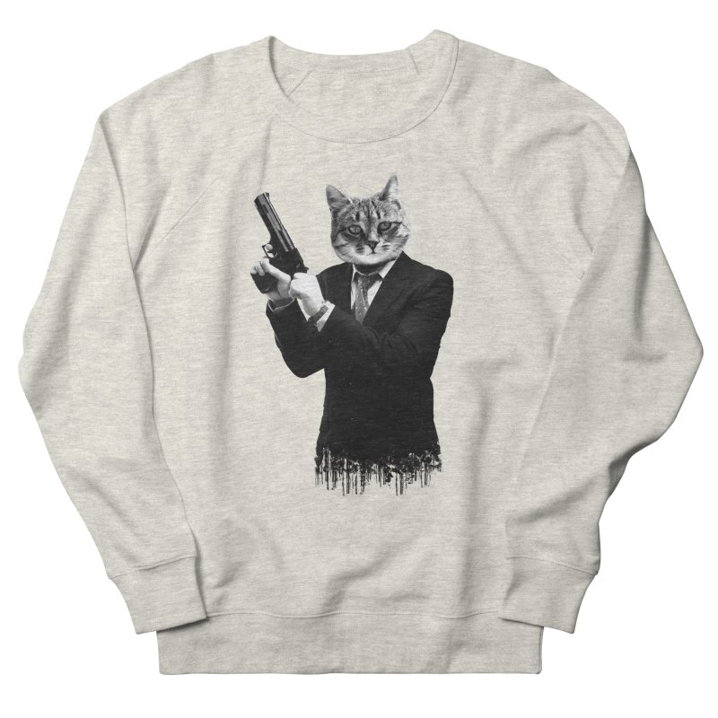 Cat! Pussy Cat Men's Sweatshirt by Andreas Leonidou's Artist Shop