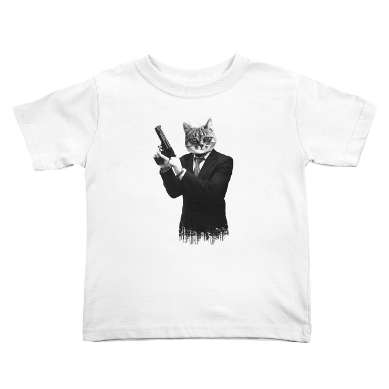 Cat! Pussy Cat Kids Toddler T-Shirt by Andreas Leonidou's Artist Shop